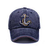 Кепка Anchor, blue, фото 2