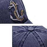 Кепка Anchor, blue, фото 5