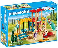 Playmobil 9423  Park Playground  Плеймобил Детская площадка с качелями