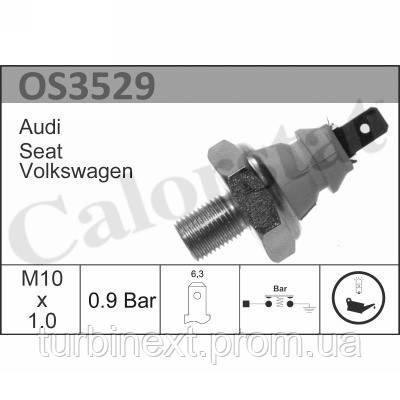 Датчик тиску масла SKODA OCTAVIA, VW CADDY VERNET OS3529