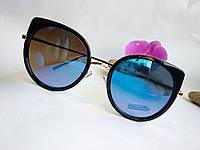 Женские солнцезащитные очки кошачий глаз зеркальные (092), фото 1