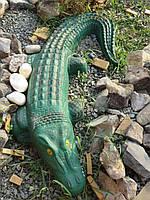 Крокодил декоративный для дома, сада и дачи.