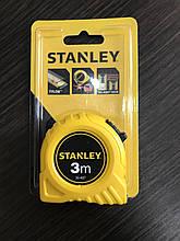 Рулетка измерительная GLOBAL TAPE длиной 3 м, шириной 12,7 мм, в пластмассовом корпусе STANLEY