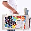 Большой набор для рисования Painting Set 180 предметов детского творчества цветные карандаши фломастеры, фото 3