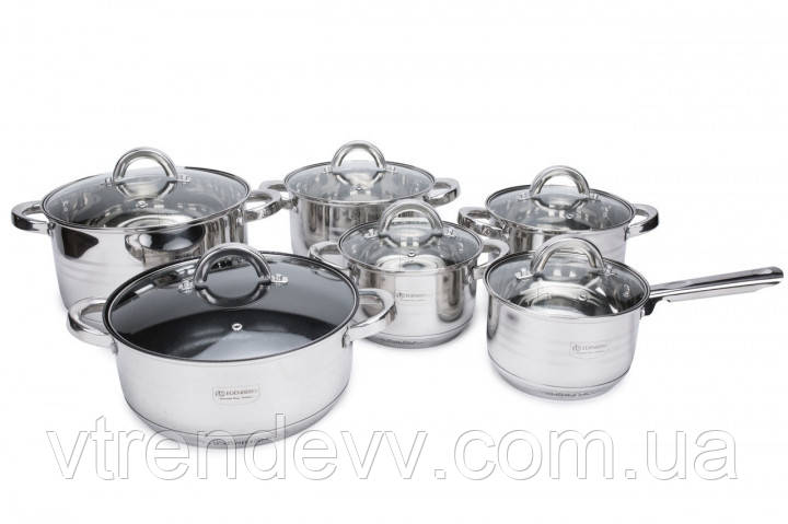 Набор посуды Edenberg EB-4012 12 предметов
