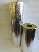 Утеплитель для труб из базальтовой ваты,  80 кг/м3, фольгир.,толщина  30 мм,  диаметр 32 мм