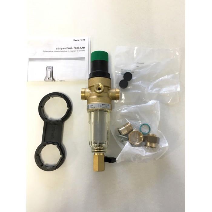 Комбінований фільтр тонкого механічного очищення Honeywell FK06-1AA