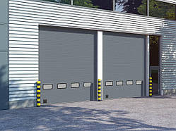 Секционные промышленные ворота DoorHan серии ISD01 (4000х3250)