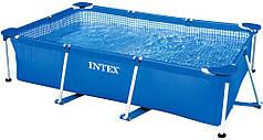 Бассейн каркасный прочный 260х160х65 см Intex 28271 Blue
