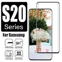 Защитное стекло с рамкой для Samsung Galaxy S20