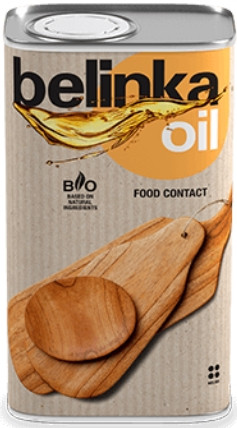 Пропитка для дерева на основі масел та олії Belinka Oil Food Contact (0,5 л)