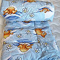 Одеяло силиконовое демисезонное Мишка, фото 3