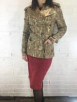Пиджак-ветровка женская 72 бежевый, фото 1