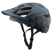 Велошлем Troy Lee Designs TLD A1 Drone (серо-черный) размер S, фото 1