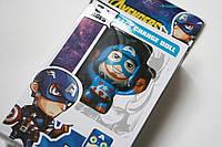 "Брелок капитан Америка марвел Игрушка мульт-герой ""Avengers"" Face Change Doll"