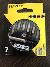 Набор бит STANLEY L= 25 мм с магнитным держателем 1/4 (7 шт)
