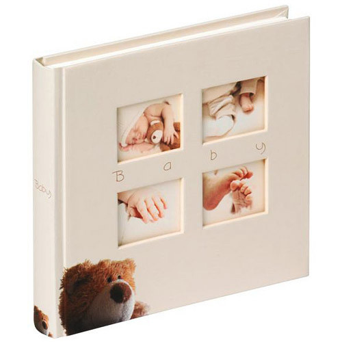 Фотоальбом 28х30 на 60 страниц Walther Classic Bear