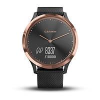 Фитнес часы Garmin Vívomove HR E.EU, Sport Black/Rose Gold, фото 1