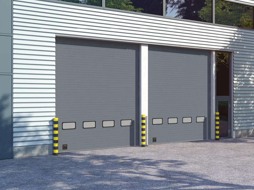 Секційні промислові ворота DoorHan серії ISD01 (4750х3000)