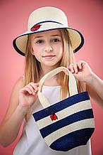 Детская шляпа для девочки Gi Amo Польша LANDG11 Молочный