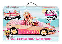 """L. O. L. Surprise! Ігровий набір з лялькою Lights """"Кабріолет"""" 565222, фото 1"""