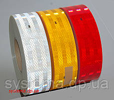 3M™ SL983-72 Diamond Grade™ - Маркировочная световозвращающая лента для жесткого кузова 55 мм х 50 м, красная, фото 3