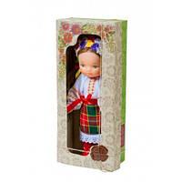 """Кукла """"Девочка в вышиванке"""" (белый)"""