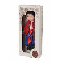 """Кукла """"Мальчик в вышиванке"""" (красный)"""