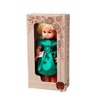 "Кукла ""Нарядная"" 40 см (зеленый)"