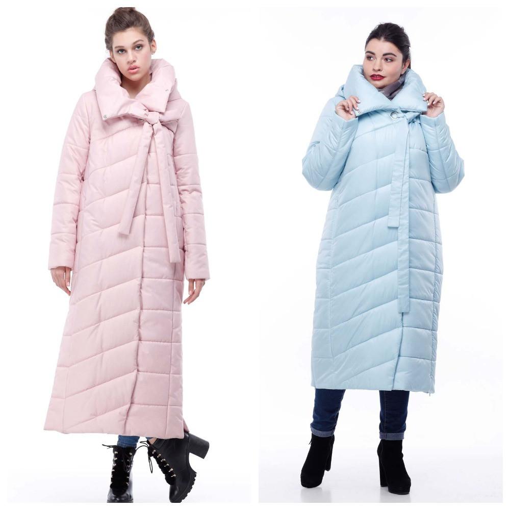 Зимове пальто-кокон стьобана з якісної плащівки, меланж ( р-р 48,50,54) код 3098М