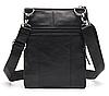 Кожаная мужская сумка барсетка Маранти / Сумка через плечо из натуральной кожи (16x19см), фото 3