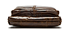 Кожаная мужская сумка барсетка Маранти / Сумка через плечо из натуральной кожи (16x19см), фото 7