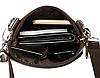 Кожаная мужская сумка барсетка Маранти / Сумка через плечо из натуральной кожи (16x19см), фото 9
