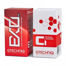 Стандартный комплект защитных покрытий - Gtechniq EXO 50 мл. and C1 50 мл. (EXO/C1-50ml)