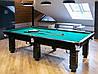 Бильярдный стол для пула Далас 9ф ардезия 2.6м х 1.3м, фото 3