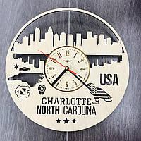 Интерьерные часы на стену «Шарлотт, Северная Каролина», фото 1