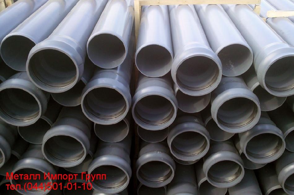 Трубы ПВХ наружного водопровода SDR 41 PN 6 диаметром 225 мм