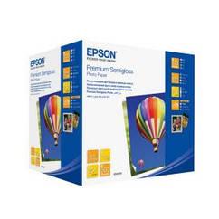 Фотобумага EPSON Premium Semiglossy Photo Paper, полуглянцевая, 251g/m2, 100х150мм, 500л (C13S042200