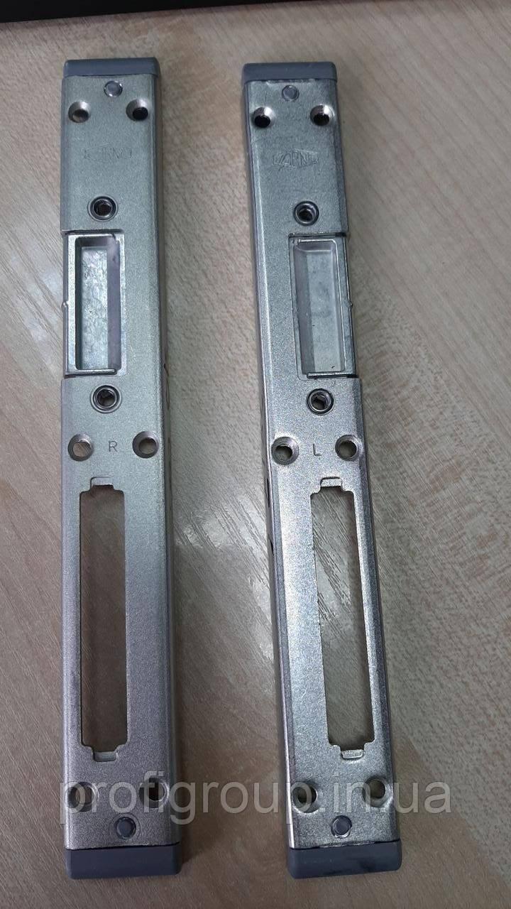 Відповідна планка дверна  Vоrne (13 мм) під роликовий замок ліва/права для ПВХ дверей