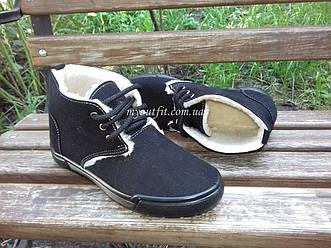 Женские ботинки утепленные стильные Черные   Размер 36 37 38 39  