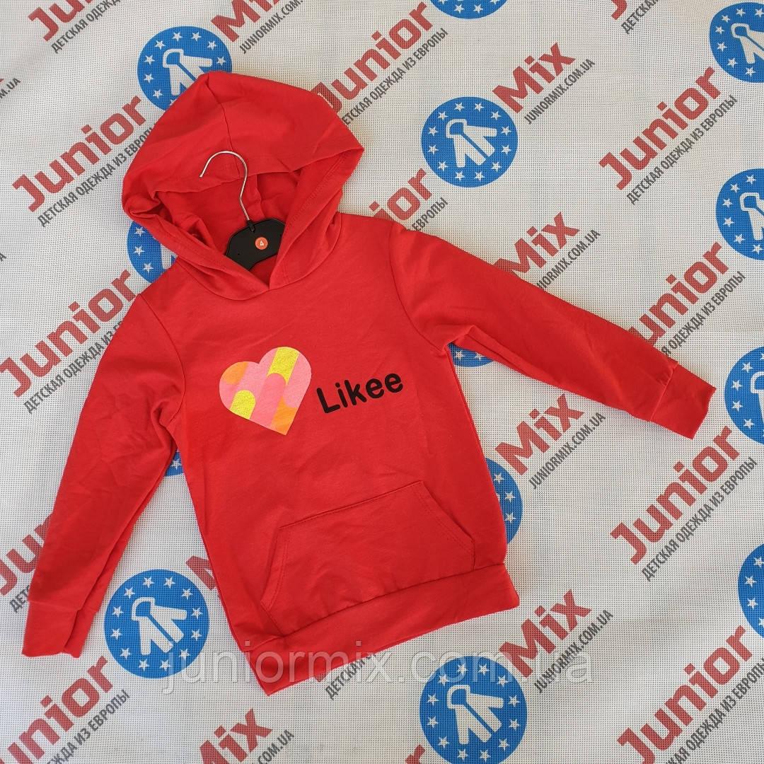 Детские трикотажные  модные кофты для девочек оптом  Likee