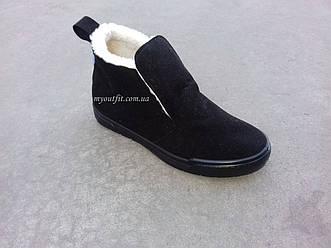 Женские ботинки утепленные стильные Черные   Размер 36 37 38 39 40 41  