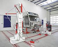 Напольная система для правки грузовиков, автобусов и полуприцепов