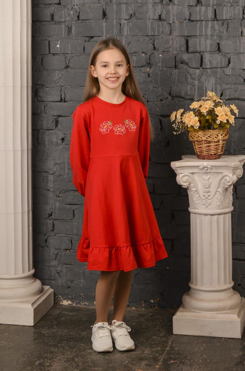 Сукня Піони червона