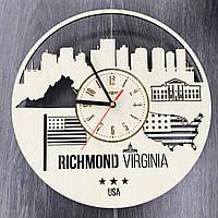 Интерьерные часы на стену «Ричмонд, Виргиния», фото 1