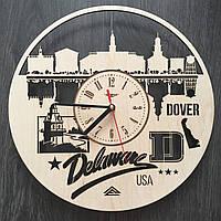 Интерьерные часы на стену «Довер, Делавэр», фото 1