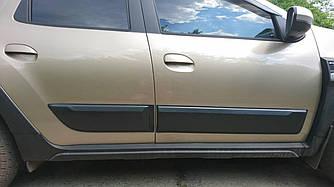 Молдинги боковых дверей Renault Duster (2018-2020)