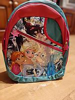 Детский рюкзак  Холодное сердце. Рюкзачок для девочки. Детский рюкзак  в садик. Рюкзак Анна и Эльза