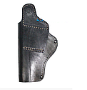 Поясная кобура из кожи для пистолета Beretta 92, Elite 2, Umarex со скобой, фото 2