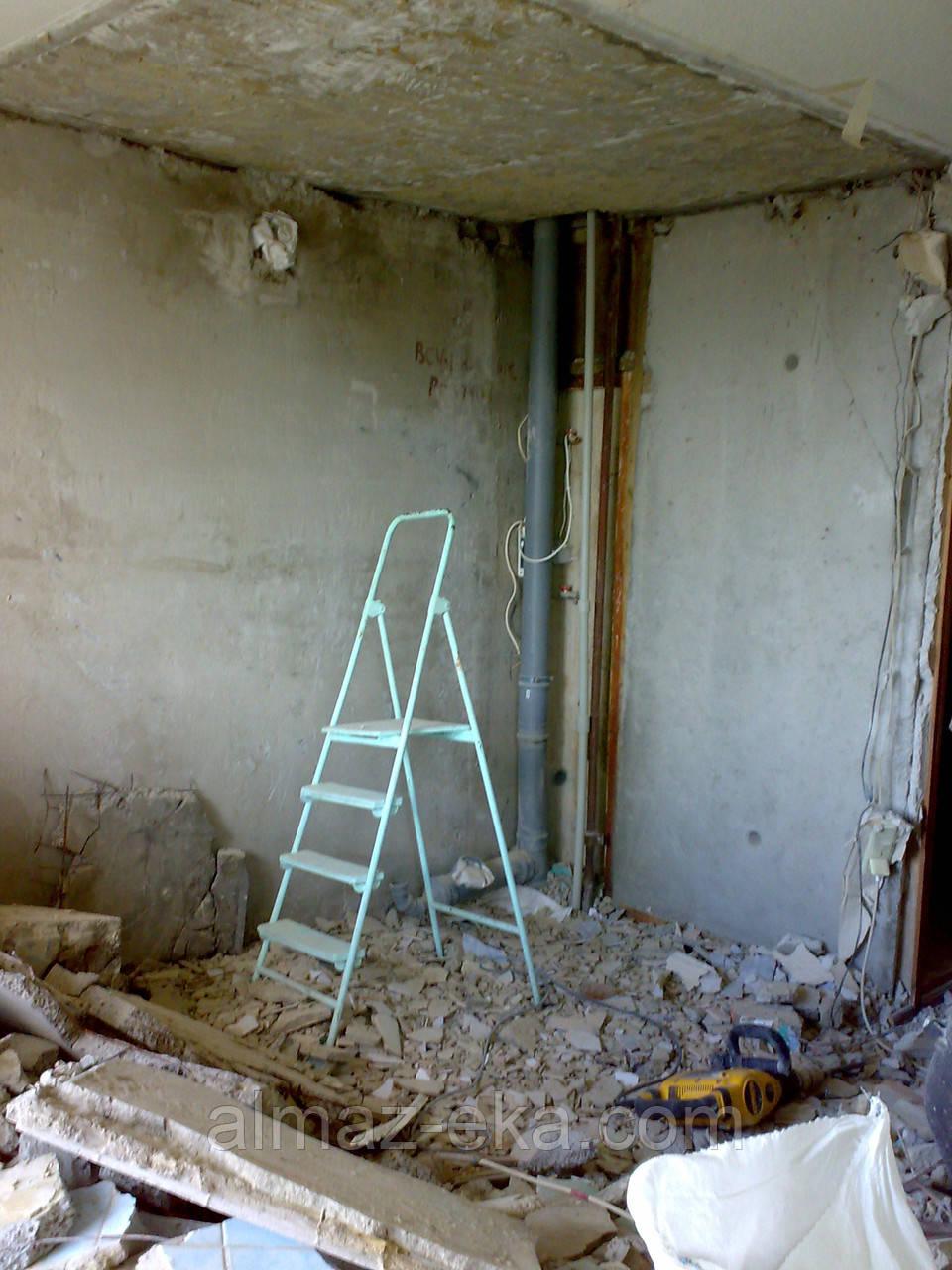 Демонтаж Сантехкабин,Стен,Перегородок в Харькове